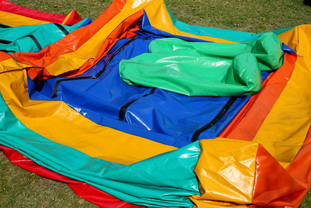 deflated bouncy castle rental