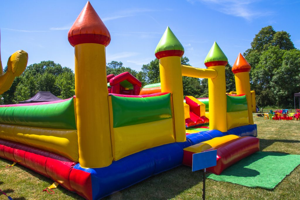 bounce house rental ready for fun in Rochester MI!